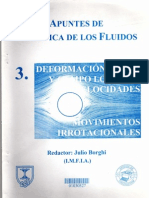 Mecánica de fluidos FLUIDO IRROTACIONAL Julio Borghi (Universidad de la República Oriental del Ur