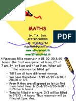 16 June Maths IV