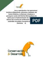 Quito Turismo 2 Conservacion y Desarrollo Smart Voyager