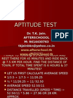 20 June Aptitude Test