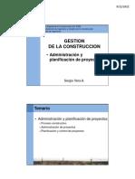 Gestion de La Construccion Adm&Planificacion 2 2011