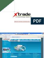 Xtrade Website Demo