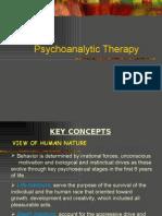 Psychoanalytic Therapy
