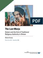 The Last Marja- Khalaji