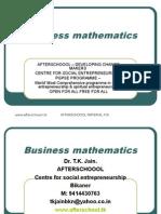5 August Business Mathematics