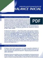 01 Balance Inicial