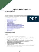 Léame de Dreamweaver CS5.5
