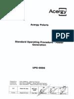 ITEM 05b UPG-0006 Power Generation SOP