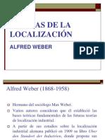 Teorías de Localización - Alfred Weber