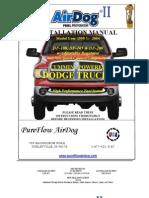AirDog 1998.5-2004 Cummins W/In-Tank Fuel Fuel Pump A5SPBD354