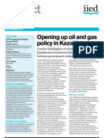 Opening Up Oil and Gas