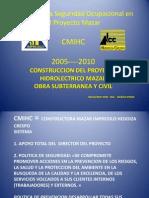 Manejo de La Seguridad Ocupacional en El Proyecto ING DANILO PEREZ ULLOA