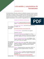 Corte de Metales y Caracter_sticas de Herramientas