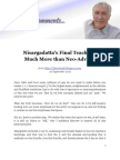 Edji - Nisargadatta's Final Teaching