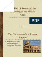 Fall of Rome Christianity