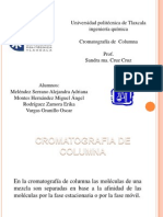CROMATOGRAFIA DE COLUMNA