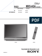 Sony Kdf - e42a10 Chasis Mix5