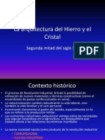 La Arquitectura Del Hierro y El Cristal