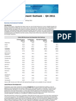Colombia Business Environment Outlook