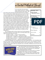September 2011 Newsletter