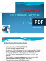 eCommerce E Payments - payment gateway - eBusiness transaction processing