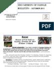 Jodo Mission Bulletin - October 2011