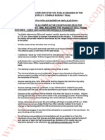 Rules and Guidelines for the Public Drawing in the People v. Conrad Murray