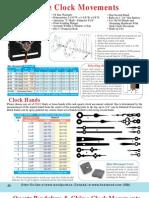 Bear Woods Supply Clock Parts
