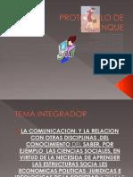PROTOCOLO DE ARRANQUE