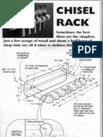 Chisel Rack
