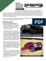 SkyJacker Dodge DC521K Install Manual