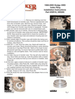 SkyJacker Dodge IXR20 Install Manual