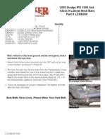 SkyJacker Dodge LCSB260 Install Manual