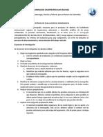 Criterios de evaluación de monografía Grado 11°