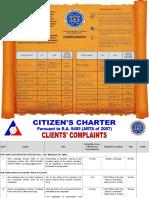 Citizen's Charter - Baguio