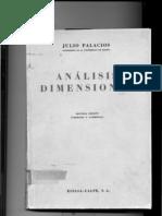 Analisis Dimensional Julio Palacios