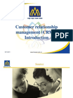 CRM1 - Introduction
