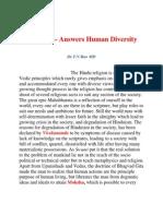 Hinduism and Human Diversity