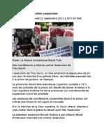 21-09-11 Troy Davis--exécution suspendue
