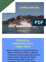 Ship Handling Theory