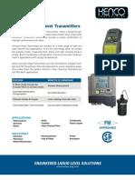 PDF Ultrasonic Level Transmitter