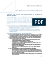 European and American SRM Design Considerations