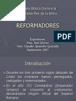REFORMADORES (Exposición)