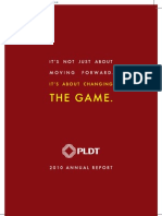 PLDT 2010 Annual Report_Main Section