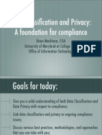 Data Classification Presentation 022908