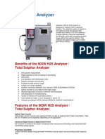 903W H2S Analyzer