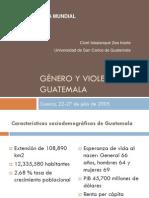 Género y violencia en Guatemala con enfoque étnico