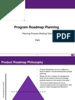 Program Roadmap Planning
