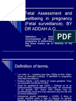 Fetal Assessment and Wellbeing in Pregnancy (Fetal