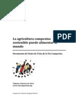 Agricultura Campesina Puede Alimentar El Mundo-2011